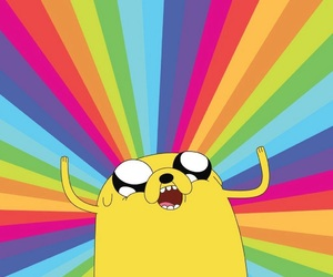 wallpaper, adventure time, and JAKe image