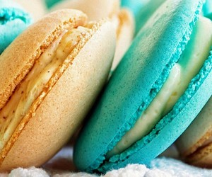 baby blue, dessert, and food image