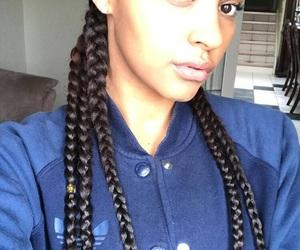 adidas, black girl, and braids image