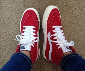 red and vans image