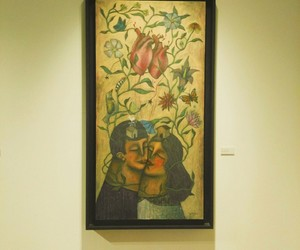 amor, pintura, and love image