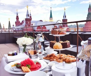 food, russia, and travel image