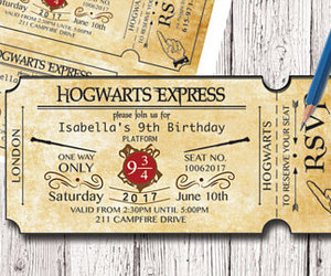 etsy, invitations, and birthday invitation image