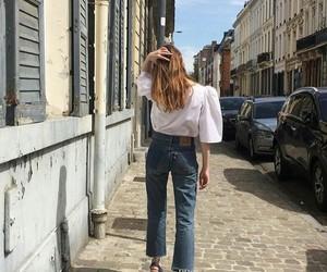 fashion, france, and girl image