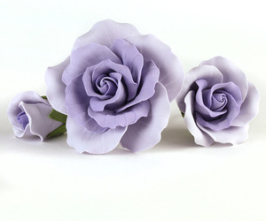 Cake Decorating, lavender, and flowers image