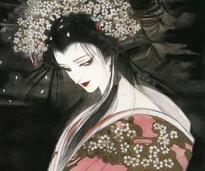 beauty, dark, and japan image