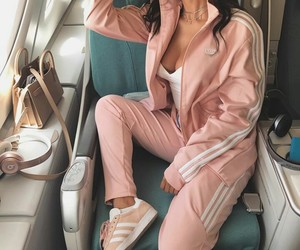 outfits, pink, and chantel jeffries image