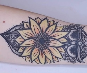 arm, fake, and flower image