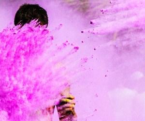 coloured powder paint, colour powder bulk, and holi gulal image