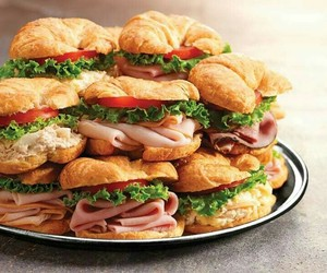 sandwich, food, and fast food image