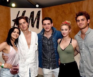 riverdale, coachella, and cole sprouse image