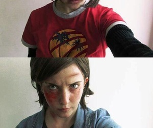 cosplay, ellie, and the last of us image