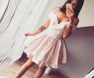 cute prom dresses, pink homecoming dress, and short homecoming dress image