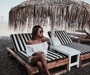 style, summer, and beach image