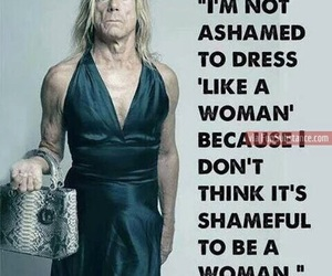 iggy pop, woman, and dress image