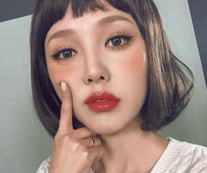 girls, pony, and korean girls image