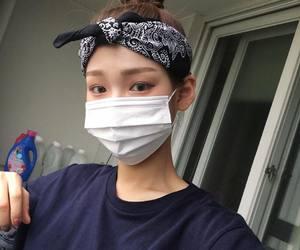 asian, bandana, and face mask image