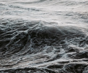 theme, waves, and aesthetic image