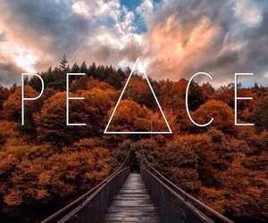 peace, sky, and wallpaper image