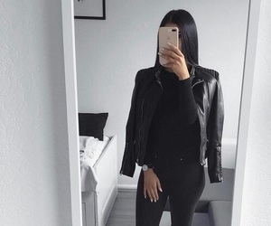 black and outfit image