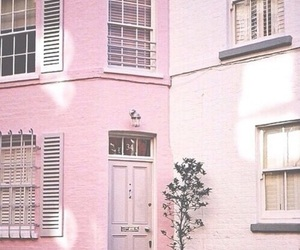 color, house, and pink image