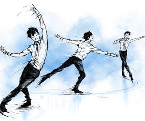 anime and yuri on ice image