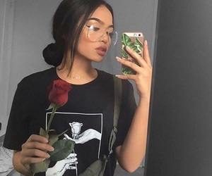 rose, beauty, and makeup image
