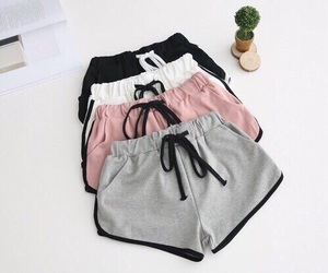fashion, shorts, and pink image