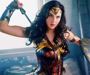 wonder woman, gal gadot, and diana prince image