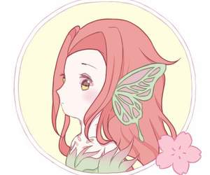 butterfly, chibi, and fanart image