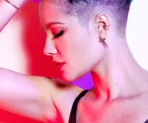 music, singer, and halsey image