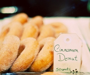 donuts, food, and novel image