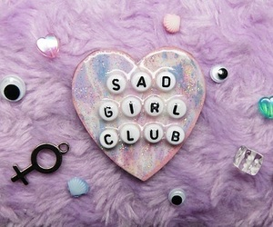 girl, sad, and grunge image