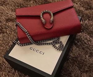 gucci, handbag, and purse image