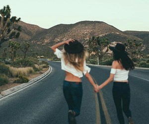 bff, friendship, and summer image