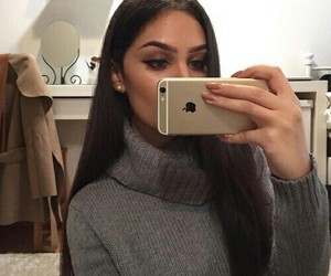 fashion, selfie, and girl image