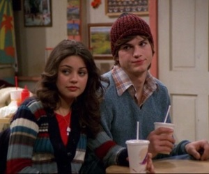 couple, that 70s show, and ashton kutcher image