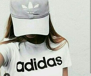 adidas, girls, and bae image