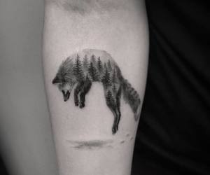 fox tattoo image
