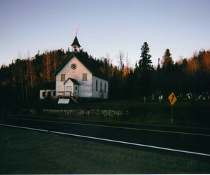 autumn, chapel, and disposable image