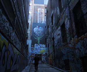 graffiti, melbourne, and photography image