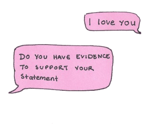 Evidence, I Love You, and support image