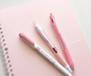 pink and pen image