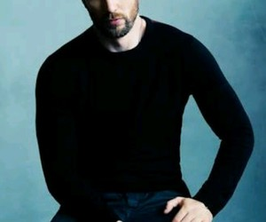 chris evans, captain america, and actor image