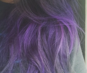 dyed hair and hair image