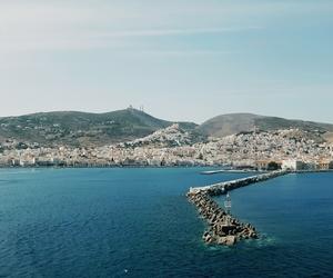 Greece, Island, and sea image