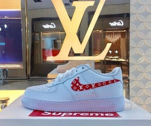 Louis Vuitton, nike, and sneakers image
