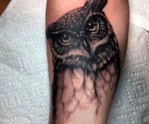 owl tattoo image