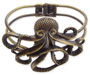 octopus, bracelet, and jewelry image