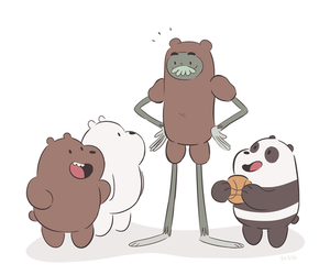 charlie, grizzly, and panda image